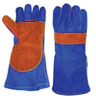 WELDING GLOVES BLUE PREMIUM
