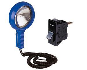 HAND HELD SPOT LAMP 12v100w