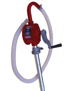 ARLUBE 205L ROTARY PUMP WITH POLY HOSE