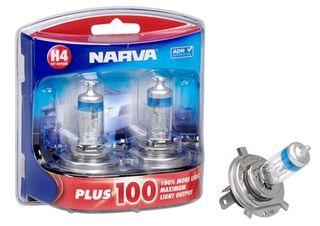 NARVA PLUS 100 12V 60/55W H4 P43T