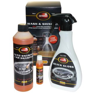 Autosol Wash & Shine Kit 5pc