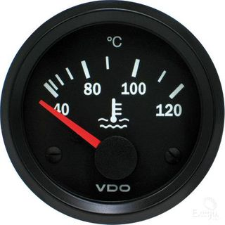 VDO WATER TEMP GAUGE 24V 40 TO 120 C
