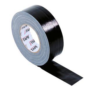 BLACK  CLOTH TAPE 50mmX25mT