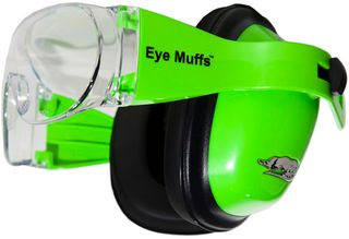 EYEMUFFS EAR AND EYE PROTECTION GREEN