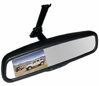 "MONGOOSE 4"" 'REPLACEMENT' AUTO DIMMING IN-MIRROR MONITOR"