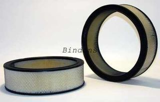 "AIR FILTER 14"" DIA 3"" TALL V8 CHROME TOP"