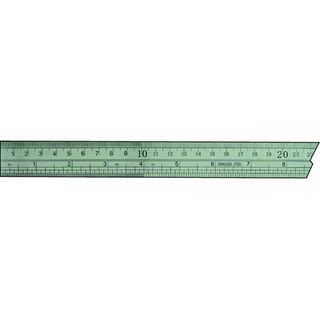 1850 Stainless Steel Rule 300mm Metric &