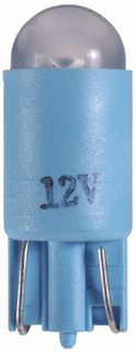 12V BLUE LED WEDGE T 10mm