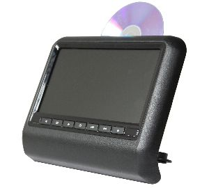"MONGOOSE HEADREST DVD PLAYER 9"" BLACK"