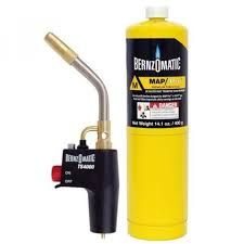 BERNZOMATIC GAS TORCH HEAD TRIGGER START