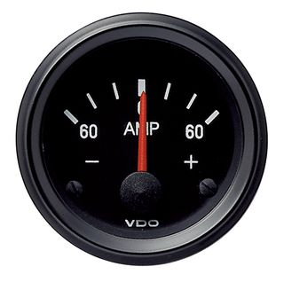AMMETER GAUGE -60 TO +60 AMP