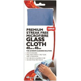 MICROFIBRE GLASS CLOTH 40CM X 40CM