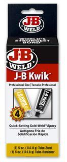 JB WELD KWIKWELD REINFORCED EPOXY LARGE