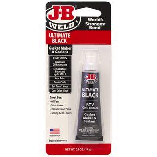 JB WELD ULTIMATE BLACK RTV SILICON 14G