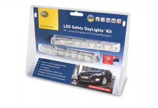 5631-BL HELLA LED SAFETY DAYLIGHT KIT 30 deg INC SMART RELAY