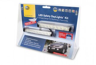 HELLA LED SAFETY DAYLIGHT KIT 12V INC SMART RELAY
