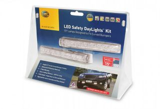 5630-BL HELLA LED SAFETY DAYLIGHT KIT 12V 15 deg INC SMART RELAY