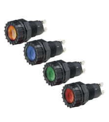NARVA 12 VOLT PILOT LAMP (RED)