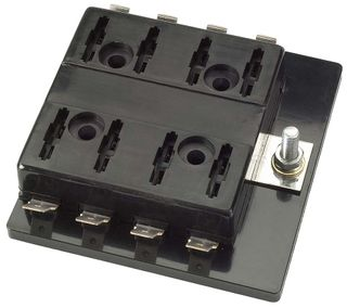 NARVA 8 WAY BLADE FUSE HOLDER with COVER