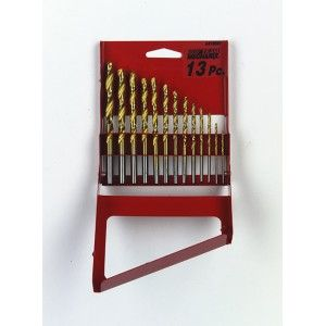 ALLTRADE 13PC TITANIUM DRILL SET