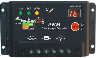 10A PWM SOLAR CHARGE CONTROLLERS