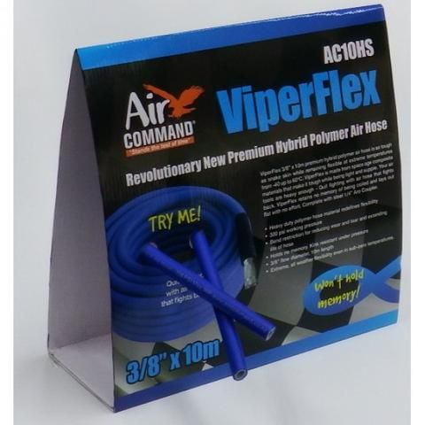 "AIR COMMAND SUPERFLEX AIR HOSE 3/8"" X 10M 300PSI RATED"