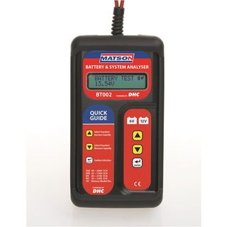 MATSON BATTERY CHARGE SYSTEM TESTER
