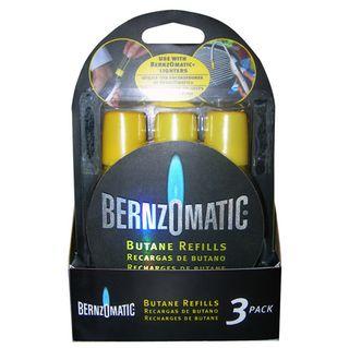 BENZOMATIC BUTANE GAS REFILLS 3PK