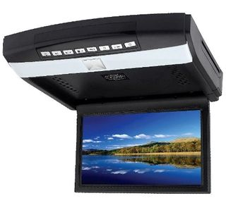 "MONGOOSE 10.2"" ROOF MOUNT DROP DOWN DVD PLAYER"