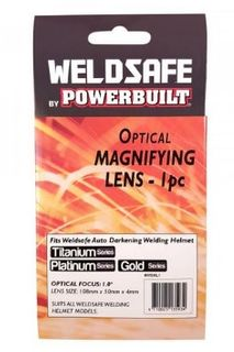 WELDSAFE 1PC WELDING HELMET MAGNIFYING LENS