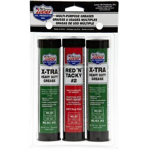 3 oz Grease Pack/1Red &Tacky/2 X-Tra H/D