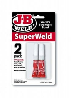 JB WELD SUPERWELD SUPER GLUE 2G PK2