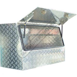 UTE-1450 TOOL BOX UTE 1450X560X700 CHECKERPLATE ALUMINIUM