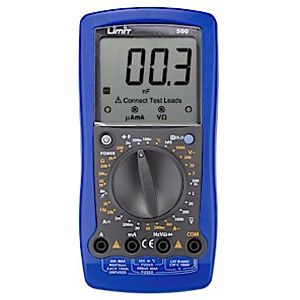 LIMIT MULTIMETER 500 (CAT III 600V)