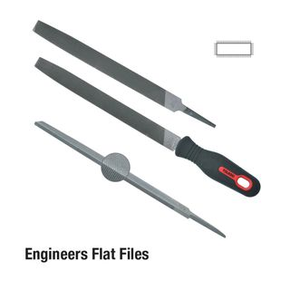 FILE 250MM FLAT SMOOTH CARDED