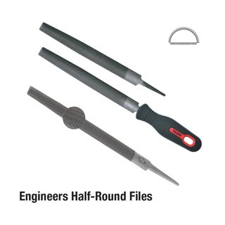 FILE 250MM ROUND SMOOTH CARDED