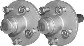 7.5 inch HUBS&STUBS 1500 GALV 5-1/2 PAIR