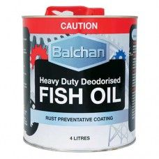 BALCHAN FISH OIL 4 LITRE