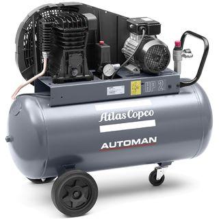 ATLAS COPCO AUTOMAN 230V/10A 2.0HP 11CFM 90L