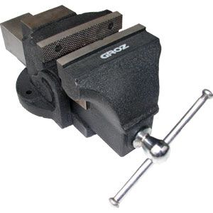 GROZ BV PROFESSIONAL BENCH VICE 5IN / 125MM