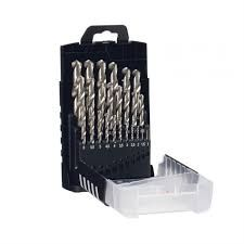 FROST DRILL BIT SET 19PC MET