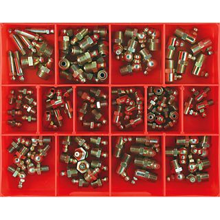 113PC IMPERIAL GREASE NIPPLE ASSORTMENT