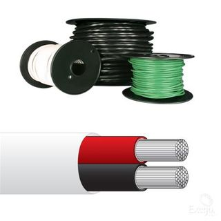 BATTERY CABLE 85MM2/000 B&S RED 10MTR