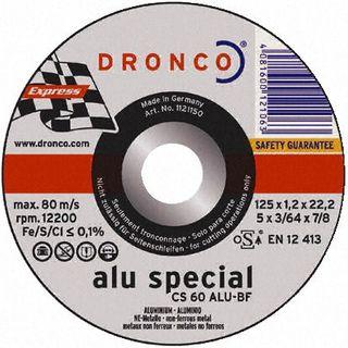 125X1.2X22 Dronco CS60 Ali cut off disc