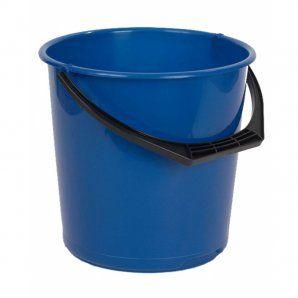 BUCKET 10L ROUND BLUE