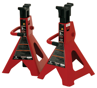 3 TON AXLE STANDS RATCHETING (1.6T PER STAND)