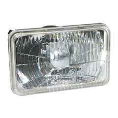 165 x 100mm H4 Halogen High/Low Beam Insert (1044)
