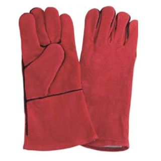 WELDING GLOVES RED