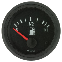 Fuel Gauge 24V Adjustable 52mm