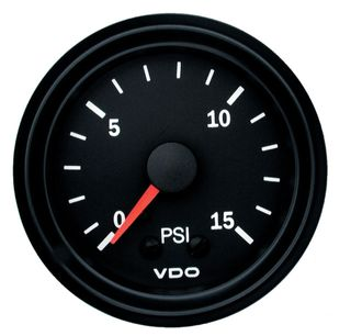 150077010 - Pressure Gauge Mechanical (0 - 15 psi)